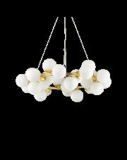 Lampa wisząca Dna SP25 208398 Ideal Lux złota oprawa w dekoracyjnym stylu