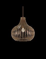 Lampa wisząca Onion SP1 D38 205298 Ideal Lux dekoracyjna oprawa w kolorze brązu
