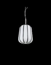 Lampa wisząca Kyoto SP1 Small 208299 Ideal Lux biała oprawa w nowoczesnym stylu
