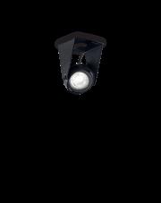 Reflektor Channel Small 203133 Ideal Lux ruchoma czarna oprawa techniczna