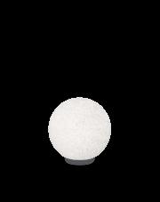 Lampa zewnętrzna Doris PT1 D30 214009 Ideal Lux kula ogrodowa w kolorze białym