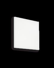Plafon zewnętrzny Mib PL1 Square 202921 Ideal Lux kwadratowa biała oprawa w nowoczesnym stylu