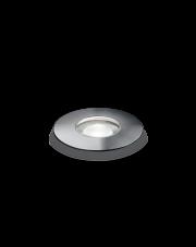 Oprawa najazdowa Rocket Mini LED PT1 2W 15° 212623 Ideal Lux okrągła oprawa w kolorze stalowym
