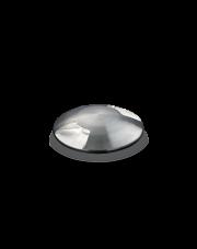 Oprawa najazdowa Rocket Mini Two Side PT1 222837 Ideal Lux okrągła oprawa w kolorze stalowym