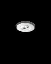 Oczko stropowe Delta 1W 062389 Ideal Lux minimalistyczna oprawa w kolorze białym