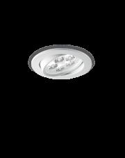 Oczko stropowe Delta 5W 062402 Ideal Lux minimalistyczna oprawa w kolorze białym