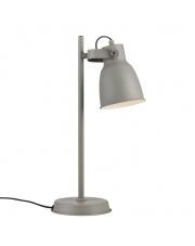 Lampa biurkowa Adrian 48815011 Nordlux dekoracyjna szara oprawa stołowa w stylu industrialnym