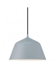 Lampa wisząca Ella 24 48703011 Nordlux szara oprawa wisząca w stylu nowoczesnym
