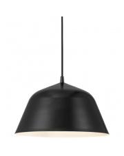 Lampa wisząca Ella 30 48713003 Nordlux czarna oprawa wisząca w stylu nowoczesnym