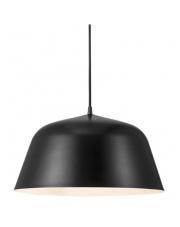 Lampa wisząca Ella 40 48723003 Nordlux czarna oprawa wisząca w stylu nowoczesnym