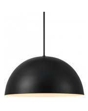Lampa wisząca Ellen 30 48563003 Nordlux czarna oprawa wiszaca w stylu design