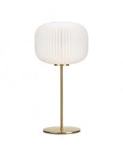 Lampa stołowa Sober 107819 Markslojd elegancka biała oprawa stołowa