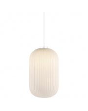 Lampa wisząca Milford 20 46573001 Nordlux designerska biała oprawa wisząca
