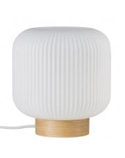 Lampa stołowa Milford 48915001 Nordlux designerska biała oprawa stołowa