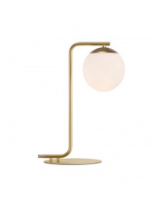 Lampa stołowa Grant 46635025 Nordlux złota designerska oprawa stołowa