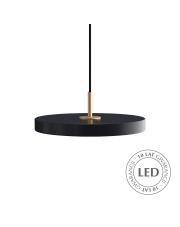 Lampa wisząca Asteria mini Anthracite 2207 UMAGE nowoczesna designerska oprawa wisząca