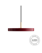 Lampa wisząca Asteria mini Ruby Red 2210 UMAGE nowoczesna designerska oprawa wisząca