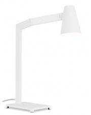 Lampa biurkowa Biarritz BIARRITZ/T/W It's About Romi minimalistyczna biała lampa biurkowa