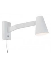 Kinkiet Biarritz BIARRITZ/W/W It's About Romi minimalistyczna biała lampa ścienna