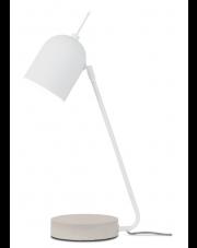 Lampa biurkowa Madrid MADRID/T/W It's About Romi nowoczesna biała lampa stojąca