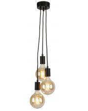 Lampa wisząca Oslo OSLO/H3/B It's About Romi nowoczesna oprawa w kolorze czarnym