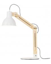 Lampa biurkowa Melbourne MELBOURNE/T/W It's About Romi nowoczesna oprawa w kolorze białym