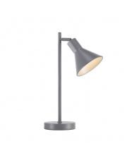 Lampa biurkowa Eik 46695010 Nordlux nowoczesna oprawa stołowa w kolorze  szarym
