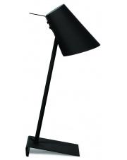 Lampa biurkowa Cardiff CARDIFF/T/B It's About Romi minimalistyczna lampa stojąca w kolorze czarnym