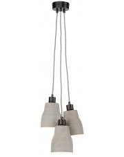 Lampa wisząca Cadiz CADIZ/H3/LG It's About Romi nowoczesna oprawa w kolorze szarym