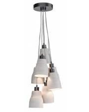 Lampa wisząca Cadiz CADIZ/H7/LG It's About Romi nowoczesna oprawa w kolorze szarym
