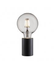 Lampa stołowa Siv 45875003 Nordlux minimalistyczna czarna marmurowa oprawa stołowa