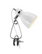 Lampa z klipsem Cyclone 73072001 Nordlux nowoczesna biała oprawa biurkowa
