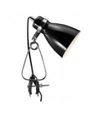 Lampa z klipsem Cyclone 73072003 Nordlux nowoczesna czarna oprawa biurkowa