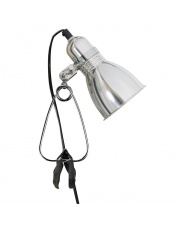 Lampa z klipsem Photo 59372029 Nordlux nowoczesna srebrna oprawa biurkowa