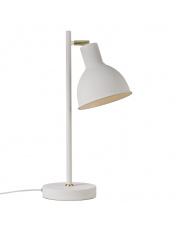 Lampa biurkowa Pop Rough 48745001 Nordlux biała matowa oprawa stołowa w stylu nowoczesnym