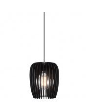 Lampa wisząca Tribeca 24 46423003  Nordlux nowoczesna drewniana oprawa w kolorze czarnym
