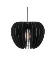 Lampa wisząca Tribeca 38 46433003  Nordlux nowoczesna drewniana oprawa w kolorze czarnym