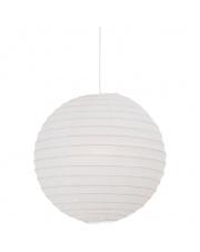 Abażur Rispapir 48 14094801 Nordlux nowoczesna oprawa w kolorze białym w kształcie kuli