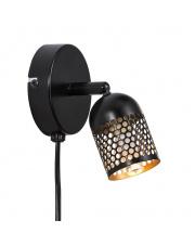 Kinkiet Alfred 49831003 Nordlux nowoczesna oprawa w kolorze czarnym
