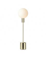 Lampa stołowa Uno 107765 Markslojd prosta stojąca oprawa w kolorze złota