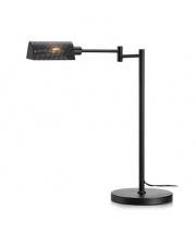 Lampa stołowa Yale 107821 Markslojd nowoczesna czarna oprawa z ruchomym ramieniem