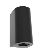 Kinkiet zewnętrzny Canto Maxi 2 49721003  Nordlux nowoczesna oprawa ścienna w kolorze czarnym