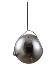 OFERTA MAGAZYNOWA Lampa wisząca Rufus 40 AZ3173 AZzardo kulista designerska oprawa wisząca w kolorze smoky