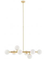 Lampa wisząca Cumulus 2 10754805 KASPA złota oprawa w dekoracyjnym