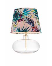 Lampa stołowa Feria 2 40910116 KASPA dekoracyjna oprawa ze szklaną podstawą