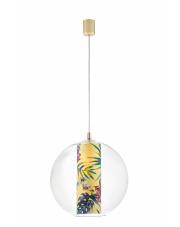 Lampa wisząca Feria L 10903114 KASPA szklana oprawa w kształcie kuli