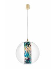 Lampa wisząca Feria L 10908116 KASPA szklana oprawa w dekoracyjnym stylu