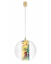 Lampa wisząca Feria M 10902114 KASPA szklana oprawa z dekoracyjną tubą