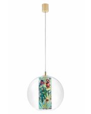 Lampa wisząca Feria M 10912113 KASPA szklana oprawa z dekoracyjną tubą