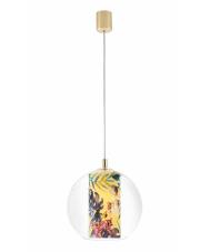 Lampa wisząca Feria S 10901114 KASPA nowoczesna oprawa z florystycznym zrobieniem